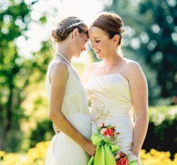 same sex brides